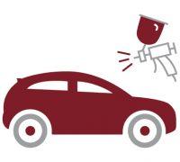 Ein Icon für den Bereich Auto-Lackierung der Autolackiererei Wirtz in Hamm.